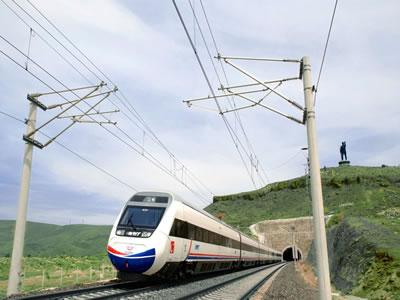 <p><strong>8b.</strong> Ankara - İstanbul Yüksek Hızlı  Demiryolu Projesi <br /> Kaynak: TCDD, 2021</p>
