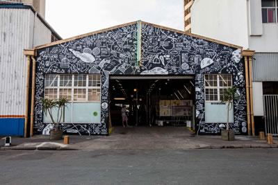 UIA Durban Caddesi Projesi: Yeniden işlevlendirilen tarihî Rivertown Birahanesi Fotoğraf: Luca Barausse