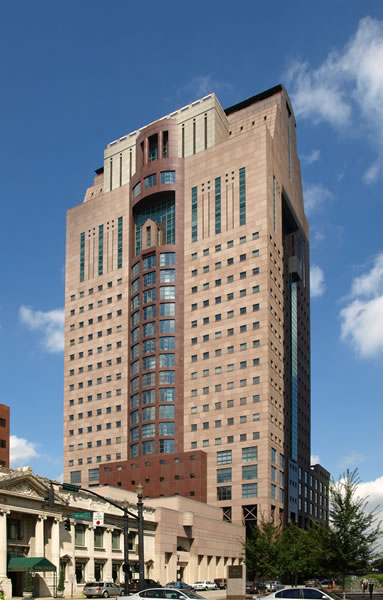 <p><strong>9.</strong> Humana Building, Louisville, Amerika.</p>