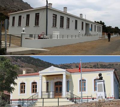 <p><strong>9.</strong> Tepeköy Özel Rum Ortaokulu ve Lisesi ile Özel Zeytinliköy İlkokulu, 2015</p>