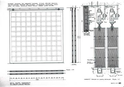 <p><strong>9a.</strong> Önder Küçükermanın proje için  ürettiği detay çizimleri<br />Kaynak: Önder Küçükerman  arşivi</p>