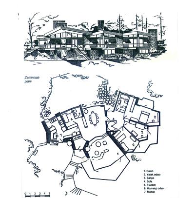 <p><strong>9a.</strong> Zübeyir Seyhun Villası, Büyükada-İstanbul, 1969.</p>