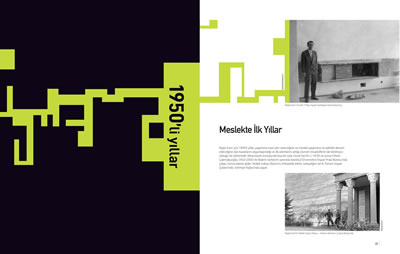 <p><strong>9a.</strong> Kitabın içinden sayfalar<br /> Kaynak: <em>Mimar  Nejat Ersin</em> kitabı s. 165. </p>