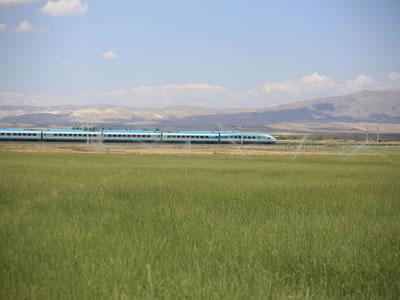 <p><strong>9a.</strong> Ankara - Konya Yüksek Hızlı Demiryolu  Projesi<br /> Kaynak: TCDD, 2021</p>