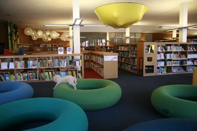 <p><strong>9c.</strong> Yeni Kütüphane Binası Bölümleri<br />  Fotoğraf: Feride Önal</p>