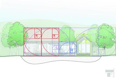 <p><strong>Diyagram  2.2. </strong>Kuzey cephesi  geometrik analiz ikinci adım</p>