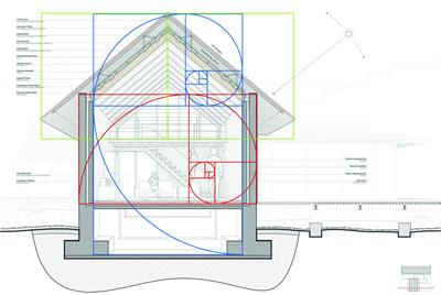 <p><strong>Diyagram  3.2.</strong> Doğudaki yaşam  mekânından alınmış sistem kesiti geometrik analiz ikinci adım</p>