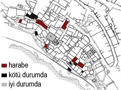 <p><strong>Harita 2.</strong> Anafiotika yerleşim planı<br />Kaynak: Öğrenci Projeleri, 2010 </p>