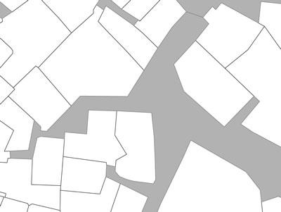<p><strong>Harita 3(a).</strong> Kamusal çıkmaz sokaklar.</p>