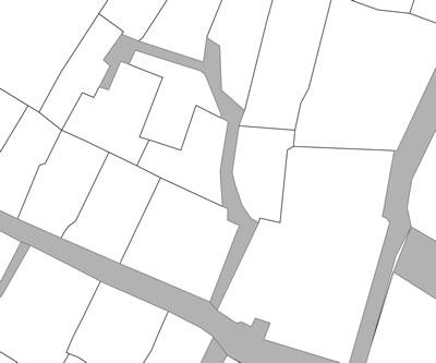<p><strong>Harita 3(b).</strong> Kamusal çıkmaz sokaklar.</p>