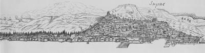 <p><strong>Resim 1.</strong> 1675 tarihli, Dr.  Covel&rsquo;e ait gravür. <br />  Kaynak: Beyru, 2011</p>