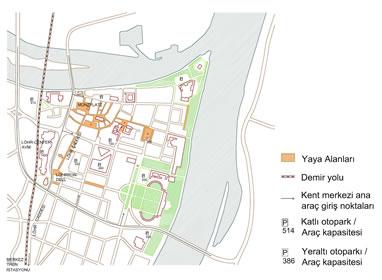<p><strong>5.</strong> Koblenz Tarihî Kent Merkezi (Altstadt Bölgesi) <br />  Kaynak: Imhof 2013 ve  Hoeven vd. 2008&rsquo;den derlenerek yazarlar tarafından çizilmiştir.</p>