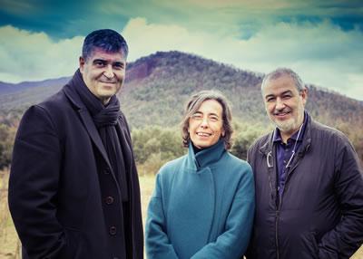<p>Rafael Aranda, Carme Pigem  ve Ramon Vilalta<br />Fotoğraf: Javier Lorenzo  Domínguez</p>