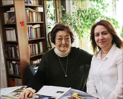 <p><strong>2.</strong> Nisan 2018 de Afife Baturun Nalan Fidan ile  gerçekleştirdiği röportajdan</p>